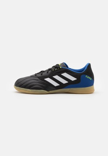 COPA SENSE.3 IN SALA UNISEX - Indoor football boots - core black/footwear white/team royal blue