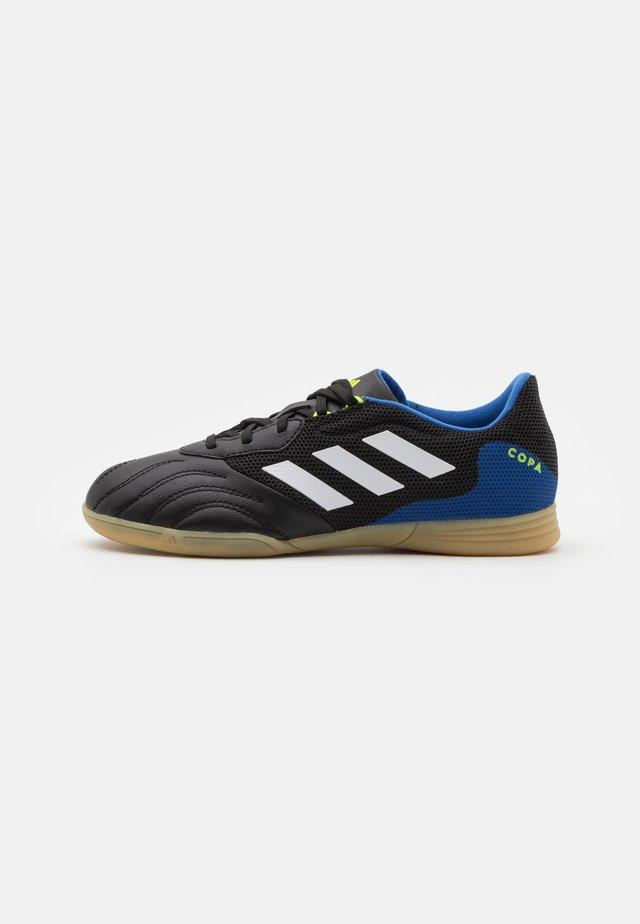 COPA SENSE.3 IN SALA UNISEX - Zaalvoetbalschoenen - core black/footwear white/team royal blue