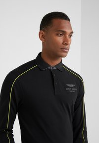 Hackett Aston Martin Racing - PIPED SEAM - Polo - black - 4