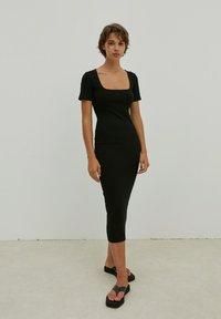 EDITED - INGRID - Jersey dress - schwarz - 0