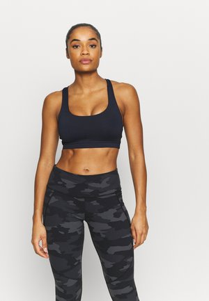 STRAPPY SPORTS CROP - Light support sports bra - navy