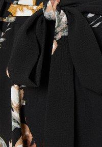 ONLY - ONLNOVA LUX JASMIN SKIRT - Áčková sukně - black - 2