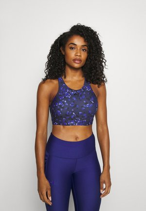 ONPANUKI BRA BOX - Light support sports bra - graystone