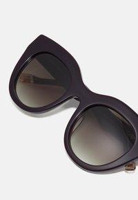 Le Specs - AIRY CANARY - Sunglasses - black grape - 3