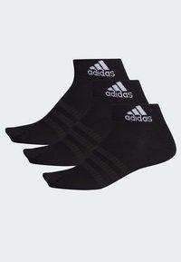 adidas Performance - LIGHT ESSENTIALS ANKLE 3 PAIR PACK - Sports socks - black - 1