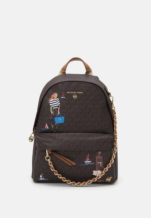 SLATER BACKPACK - Rucksack - brown/multi