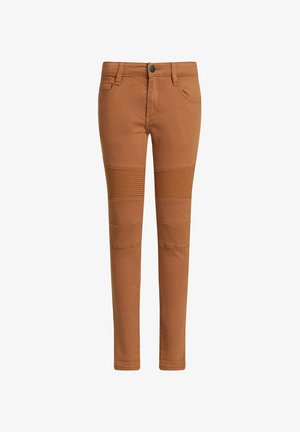 BIKER - Jeans Skinny Fit - cinnamon brown