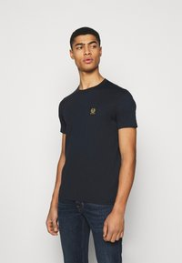 Belstaff - SHORT SLEEVED - Basic T-shirt - dark ink - 0
