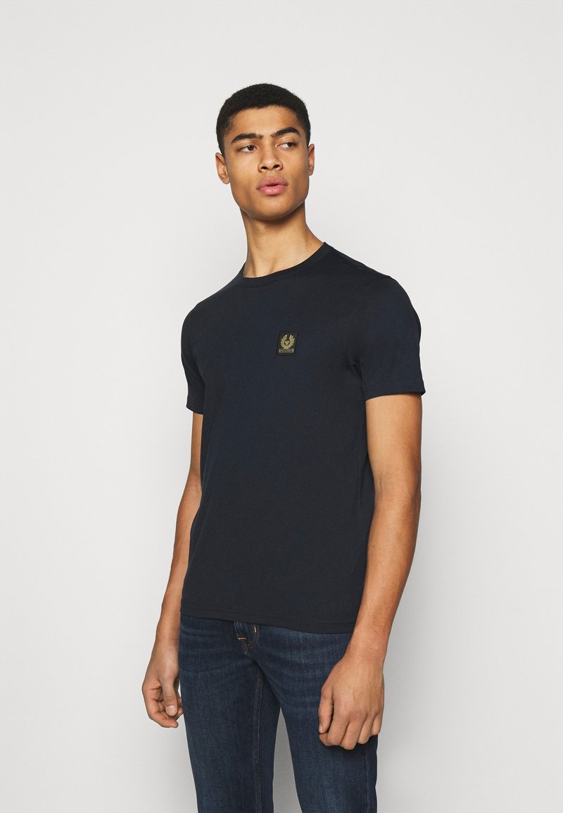 Belstaff - SHORT SLEEVED - Basic T-shirt - dark ink