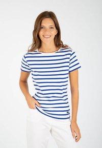 Armor lux - MORGAT MARINIÈRE - Print T-shirt - blanc/etoile - 0