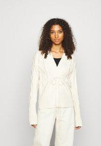 Fashion Union - IVY - Cardigan - cream - 0