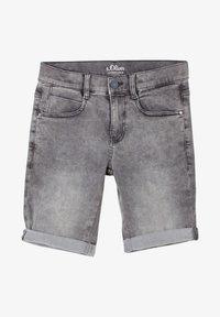 s.Oliver - SEATTLE - Denim shorts - grey - 0