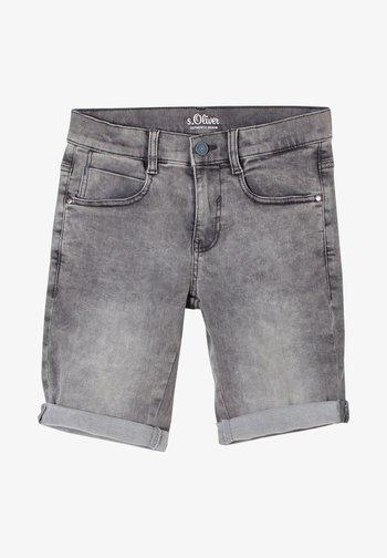 SEATTLE - Denim shorts - grey