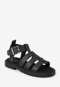 Next - Chodecké sandály - black - 5