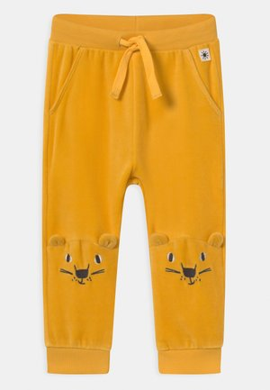 TROUSERS FACE AT KNEE UNISEX - Kalhoty - dark dusty yellow