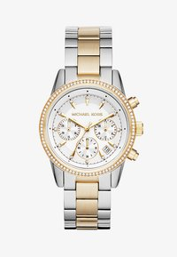 Michael Kors - RITZ - Chronograph watch - silver-coloured/gold-coloured - 1