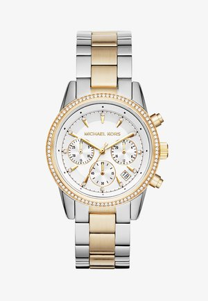 RITZ - Zegarek chronograficzny - silver-coloured/gold-coloured
