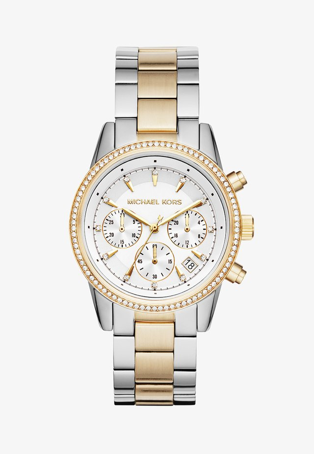 RITZ - Chronograph watch - silver-coloured/gold-coloured