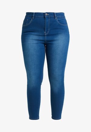 LUCY HIGH WAIST SUPER SOFT - Jeans Skinny - blue