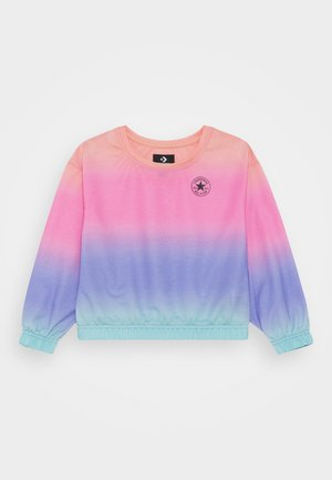 SUPER SOFT OMBRE BOXY CREW NECK - Mikina - multicolor