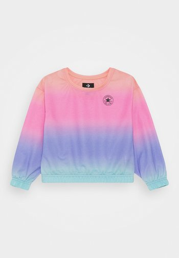 SUPER SOFT OMBRE BOXY CREW NECK