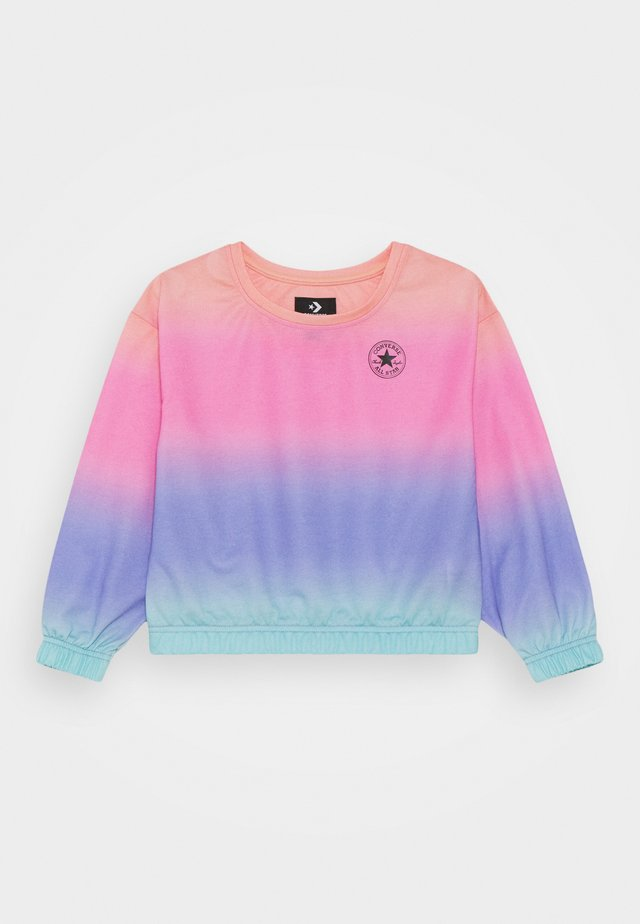 SUPER SOFT OMBRE BOXY CREW NECK - Sweater - multicolor