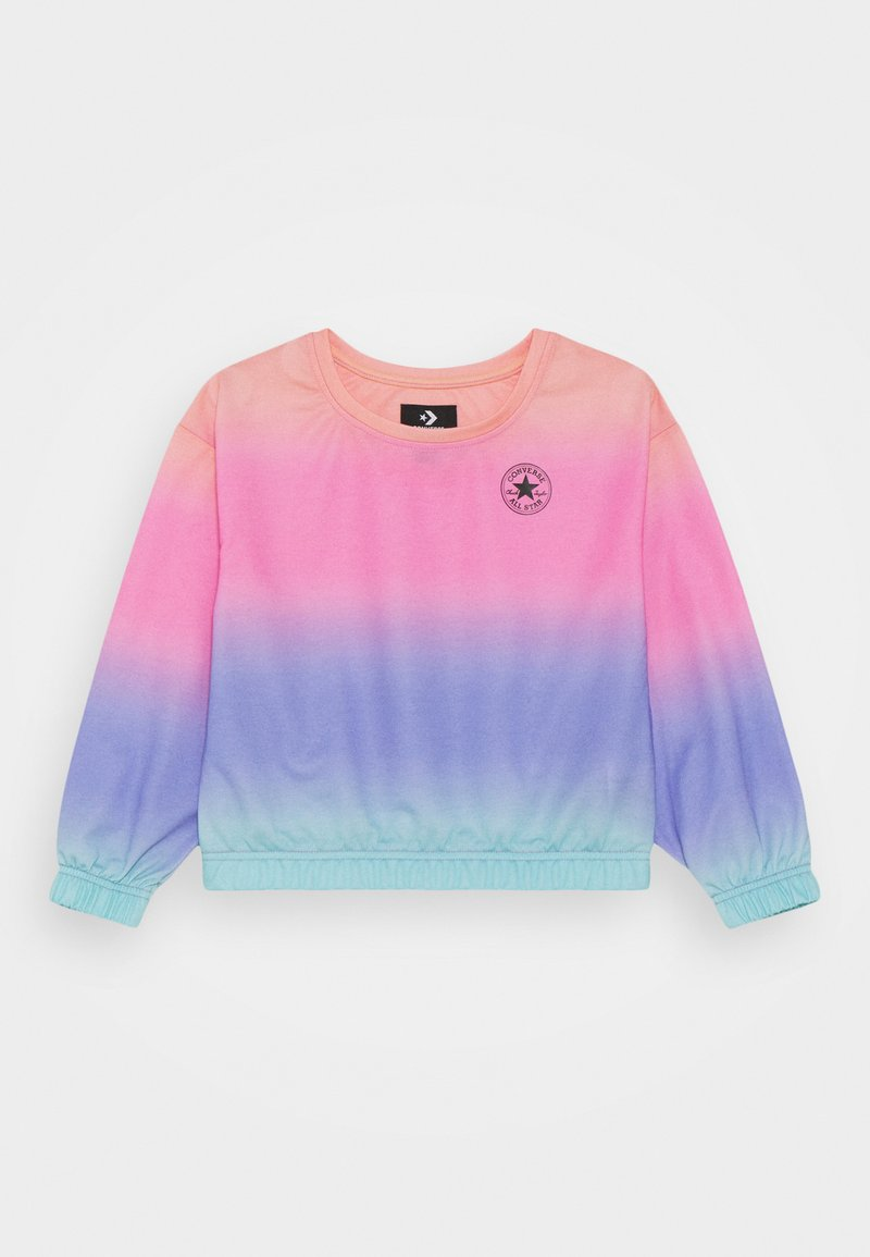 Converse - SUPER SOFT OMBRE BOXY CREW NECK - Sweatshirt - multicolor