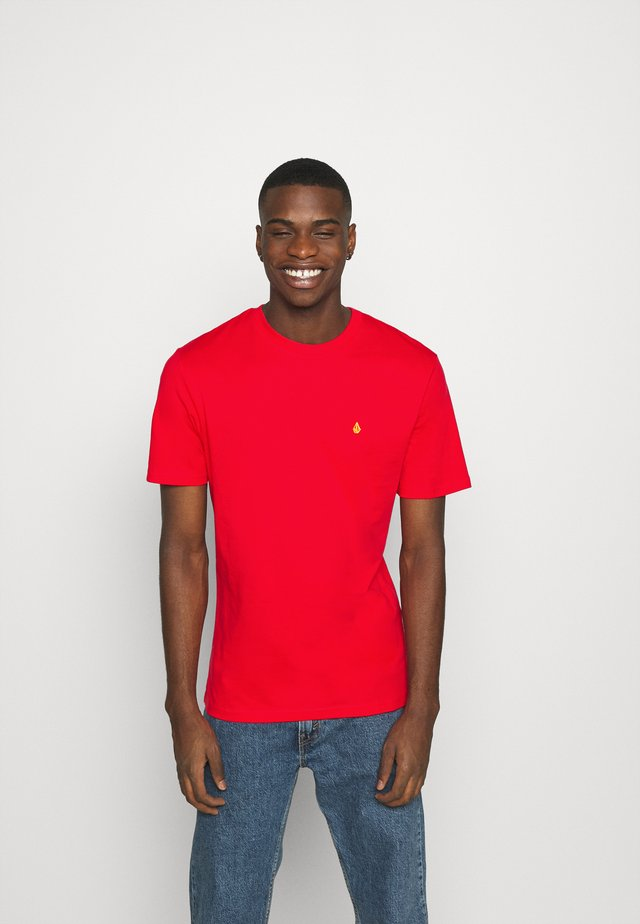 STONE BLANKS  - T-shirt basic - fiery red