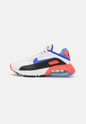 AIR MAX 2090 UNISEX - Sneakers laag - summit white/sapphire/black/bright crimson