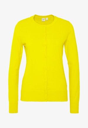 CREW - Cardigan - bold yellow