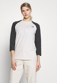 The North Face - WOMENS CORREIA TEE - Topper langermet - vintage white - 0