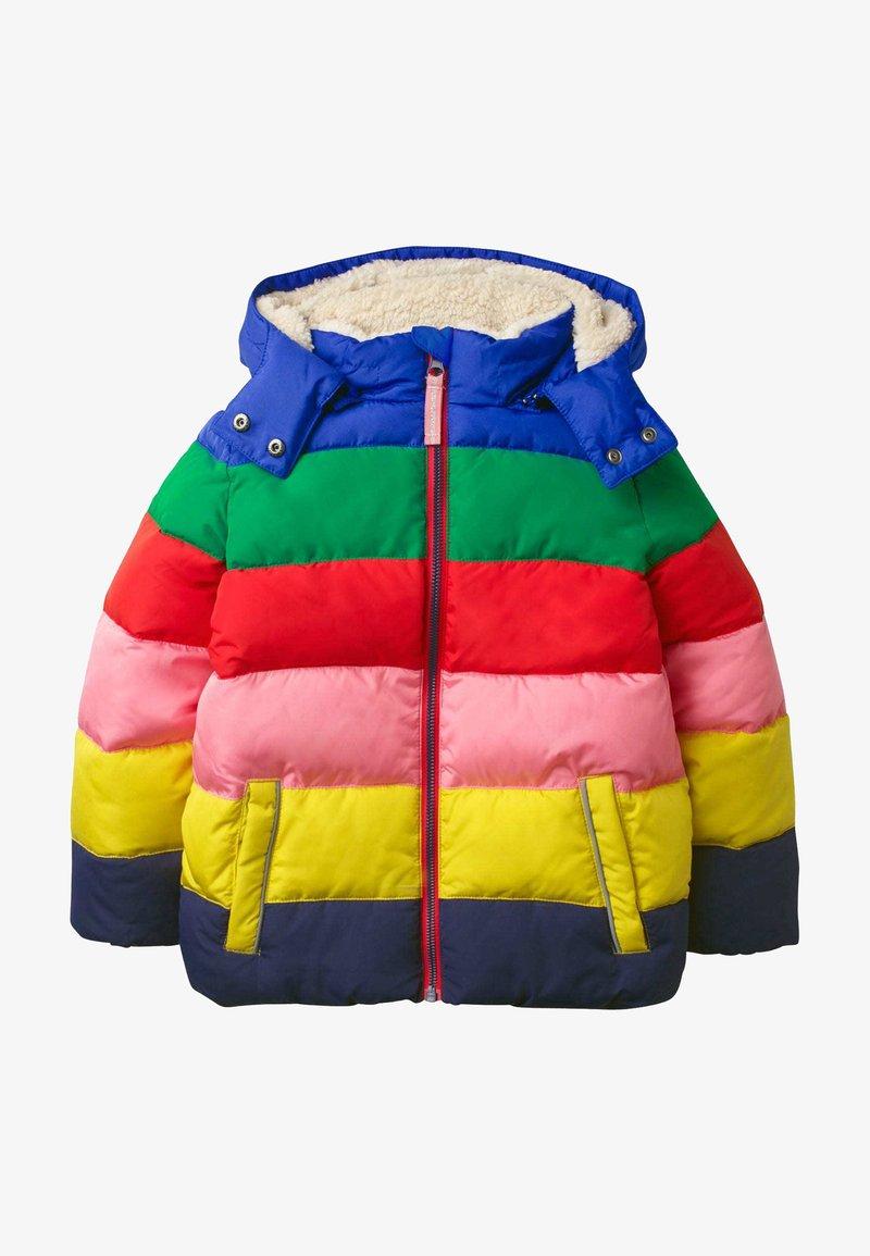 Boden - MIT WATTIERUNG - Winter coat - bunt, regenbogenfarben