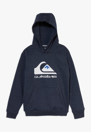 BIG LOGO YOUTH - Hoodie - navy blazer heather