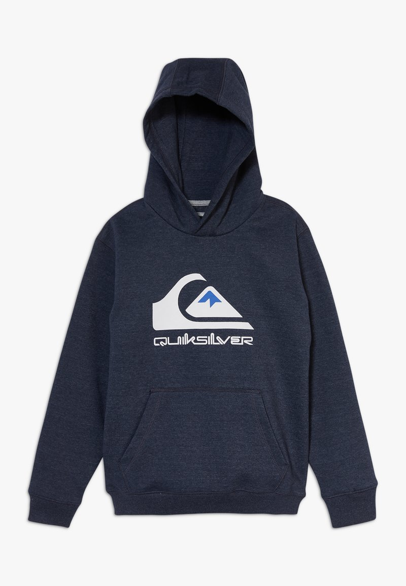Quiksilver - BIG LOGO YOUTH - Hoodie - navy blazer heather