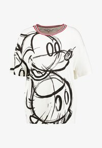 Desigual - LOVE MICKEY - T-shirts med print - blanco - 4