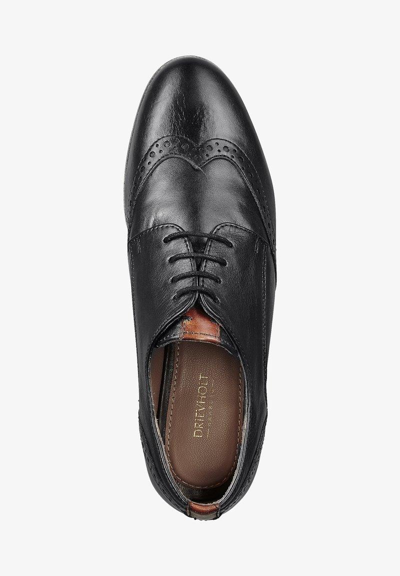 Drievholt - Smart lace-ups - schwarz