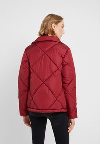 Save the duck - MEGGA - Winter jacket - mineral red - 2