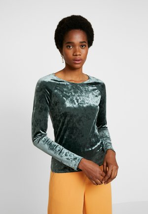 KYRA LONG SLEEVE - Top s dlouhým rukávem - dark green