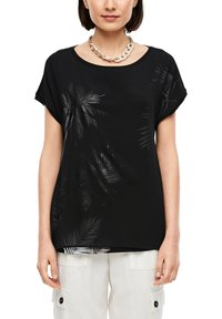 s.Oliver - MIT LAYERING-EFFEKT - Blouse - black placed print - 3
