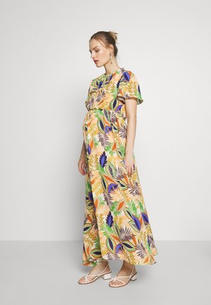 DRESS - Žerzejové šaty - african