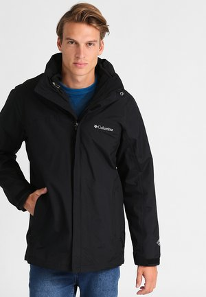 MISSION AIR 2-IN-1 - Outdoor jacket - black