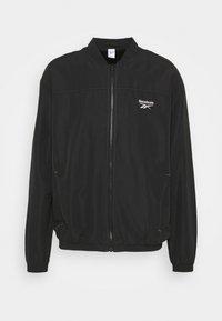 BACKVECTOR - Bomber Jacket - black