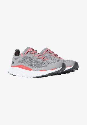 W VECTIV ESCAPE - Hiking shoes - microchip grey fiesta red