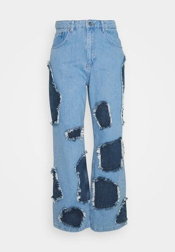 RANCH - Jeans relaxed fit - light blue/indigo