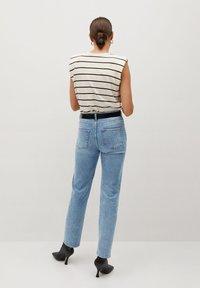 Mango - PREMIUM - Straight leg jeans - mellanblå - 2
