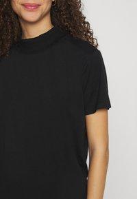 Even&Odd Petite - Basic T-shirt - black - 4