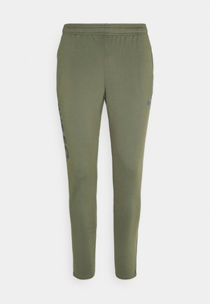 FC  - Tracksuit bottoms - medium olive/thunder blue