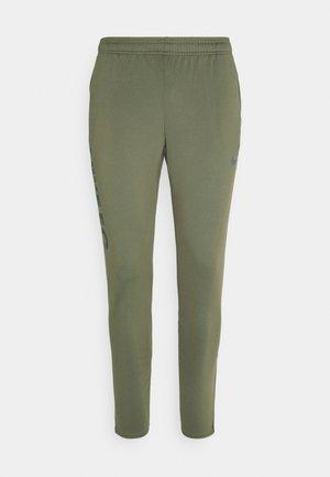 FC  - Spodnie treningowe - medium olive/thunder blue