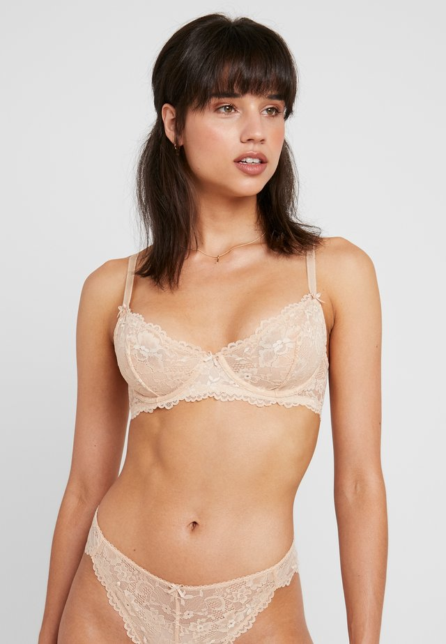 UNLINED BRA - Underwired bra - buff