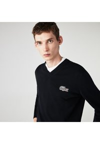 Lacoste - LACOSTE X NATIONAL GEOGRAPHIC - Jumper - bleu marine / blanc - 2